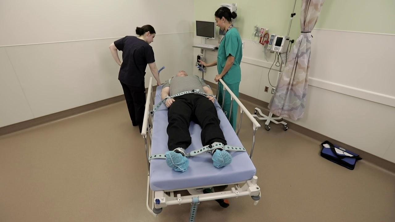 medical restraints in hospitals