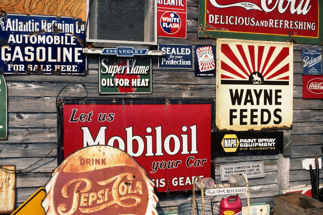 most expensive vintage signs