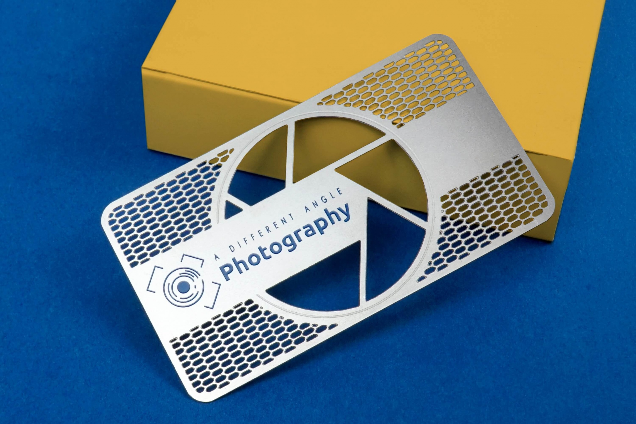 metal business card ideas